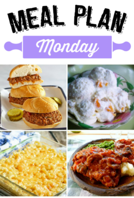 Hey friends! Welcome to another week of inspiration to help you gather friends and family around the dinner table again with this week's Meal Plan Monday 123!