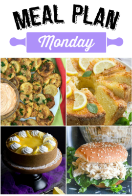 Meal Plan Monday 124