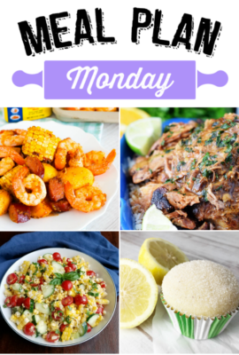 Meal Plan Monday 127