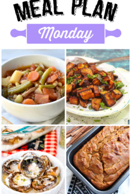 Meal Plan Monday 132
