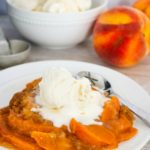 Slow Cooker Peach Cobbler Recipe