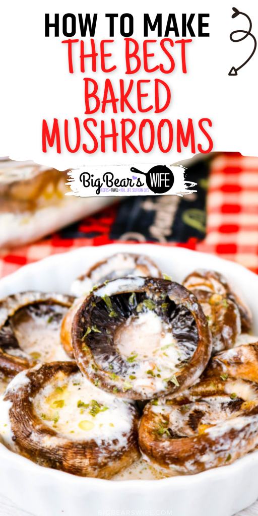These mushrooms are baked in a tasty seasonedcream sauce and they're perfect as a party appetizer or as a side dish for lunch or dinner! They may beThe BEST Baked Mushrooms I've ever had.#bakedmushrooms #mushrooms