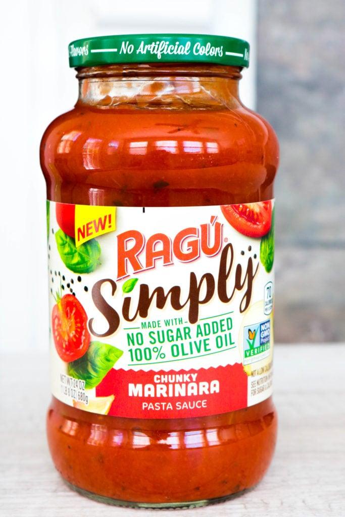 New RAGÚ® Simply Chunky Marinara Pasta Sauce