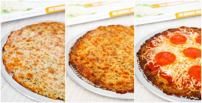 Cali'flour Pizza Crust & Penne