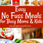 Easy No Fuss Meals for Busy Moms and Families with this Fall's #NoFussFoodsBBoxx