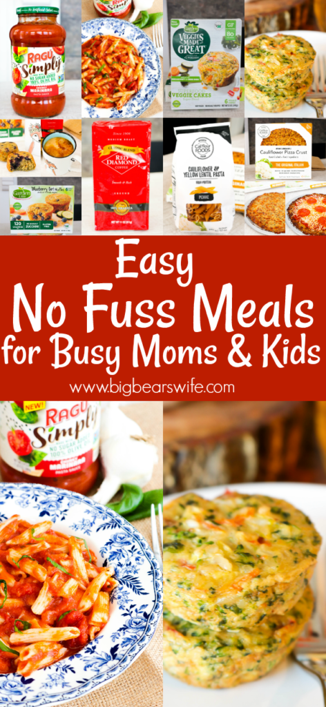 Easy No Fuss Meals for Busy Moms and Kids with this Fall's #NoFussFoodsBBoxx