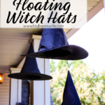 Easy DIY Floating Witch Hats