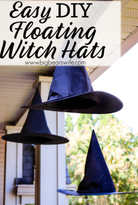 Floating Witch Hats