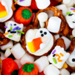 Ghostly Sweet and Salty Snack Mix #HalloweenTreatsWeek