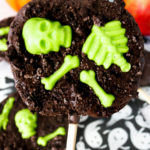 Graveyard Chocolate Apple Slices