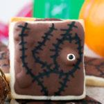 Hocus Pocus Spell book Cookie Sandwiches #HalloweenTreatsWeek
