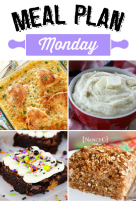Meal Plan Monday 137
