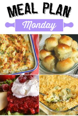 Meal Plan Monday 139
