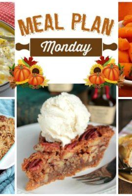 Thanksgiving Meal Plan Monday