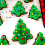 Copycat Little Debbie Christmas Tree Brownies
