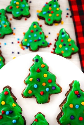 Little Debbie CopyCat Christmas Tree Brownies