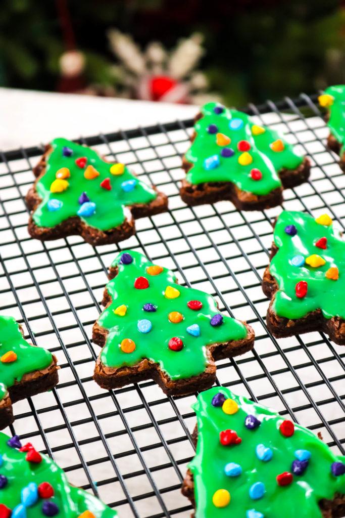Little Debbie CopyCat Christmas Tree Brownies