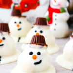 Melting Snowmen Cookie Bites