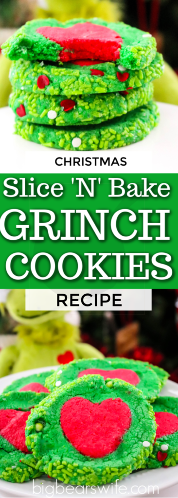 Slice N Bake Grinch Cookies Recipe