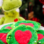 Slice 'N' Bake Grinch Cookies #ChristmasSweetsWeek