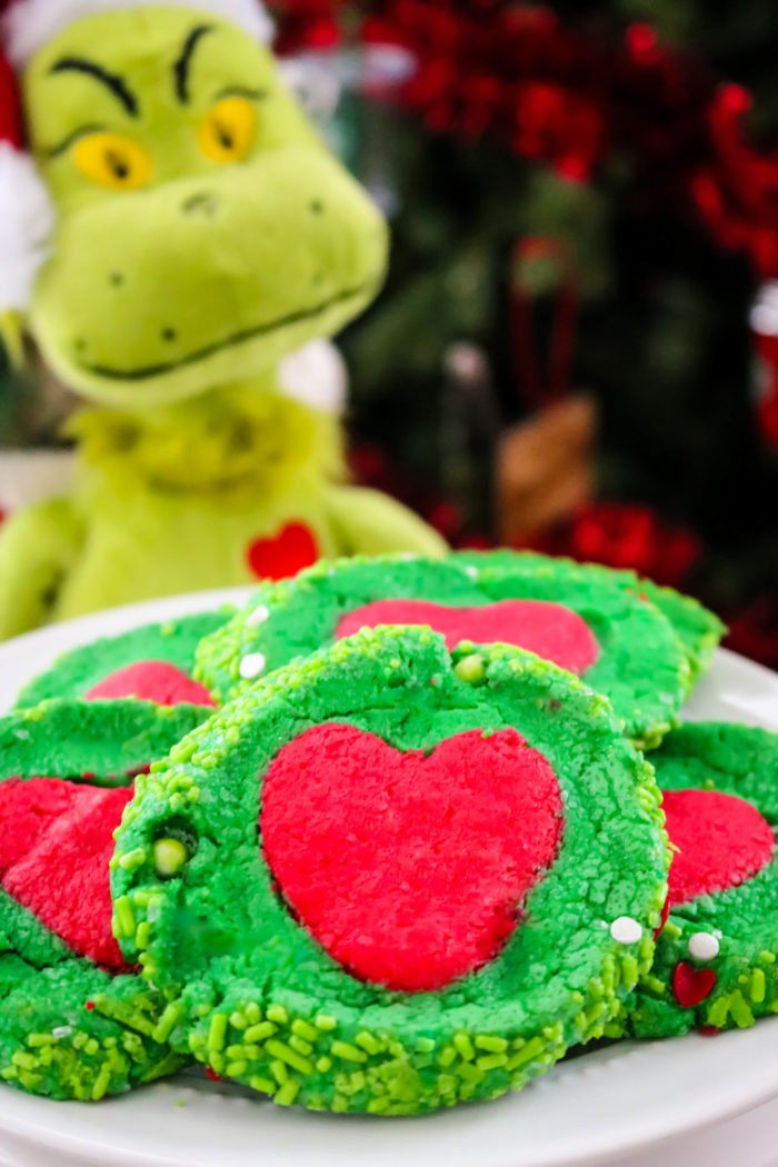 Slice 'N' Bake Grinch Cookies