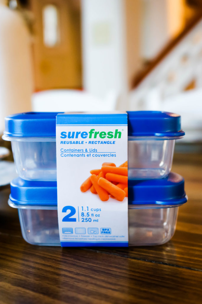 Surefresh Dollar Tree Plastic Containers