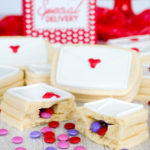 Surprise Inside Love Letter Sugar Cookies