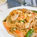Chicken Thai Peanut Butter Noodles