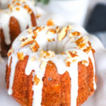 Hummingbird Mini Bundt Cakes