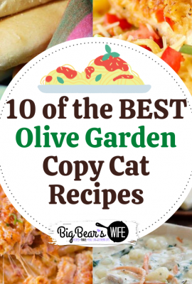 0 of the BEST Olive Garden Copy Cat Recipes