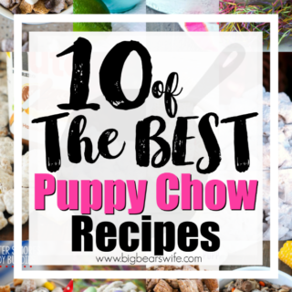 10 of the Best Puppy Chow Recipes - Powdered Sugar Chex Snack Mix