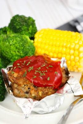 Muffin Tin Mushroom Meatloaf