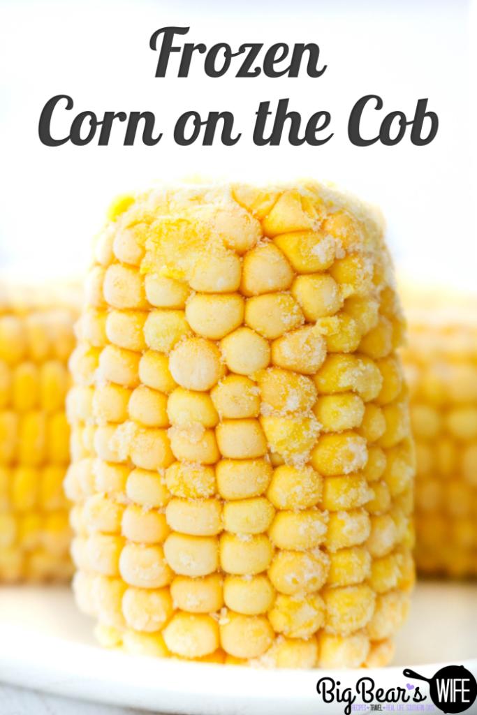 Frozen Corn on the Cob