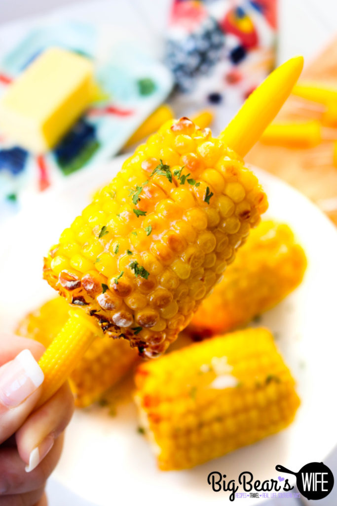 Air Fried Corn on the Cob