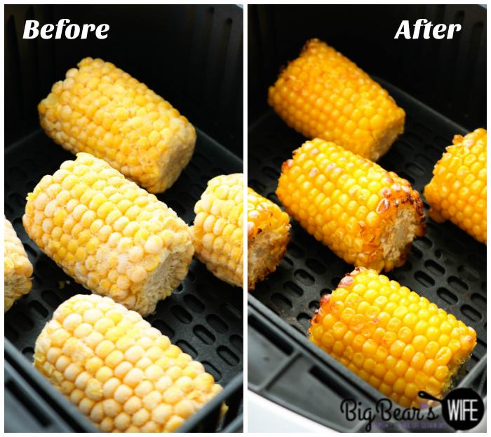 Frying Corn in the Air Fryer