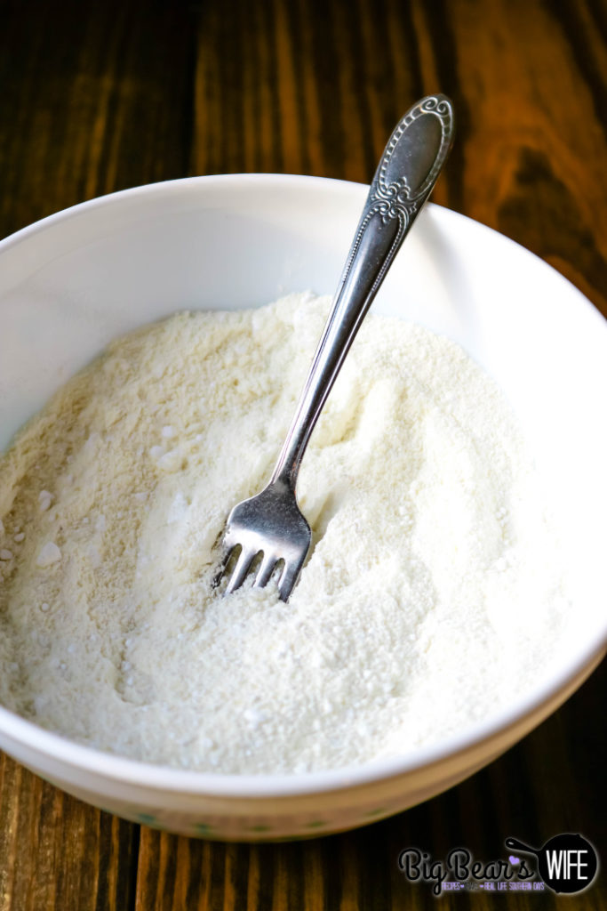 Almond Flour and Powdered Sugar