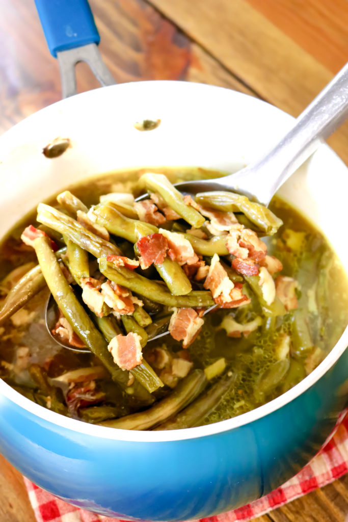 Stove Top Southern Green Beans