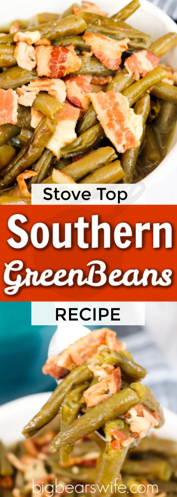 Stove Top Southern Green Beans - Stove Top Southern Green Beans are amazing and super easy to make! They're simmered all day long to create the most flavorful green beans ever!