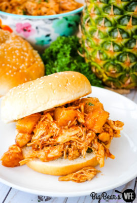 BBQ Pineapple Chicken Sandwiches
