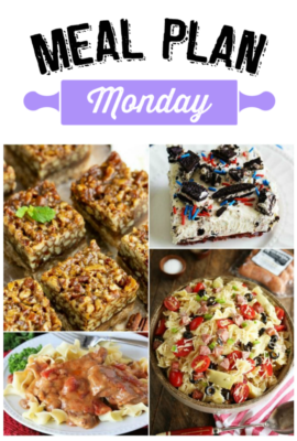 Meal Plan Monday 168