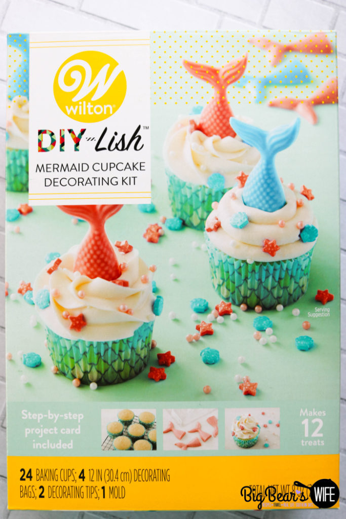 Wilton DIY Mermaid Cupcake Kit