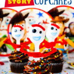 Toy Story Forky Cupcakes