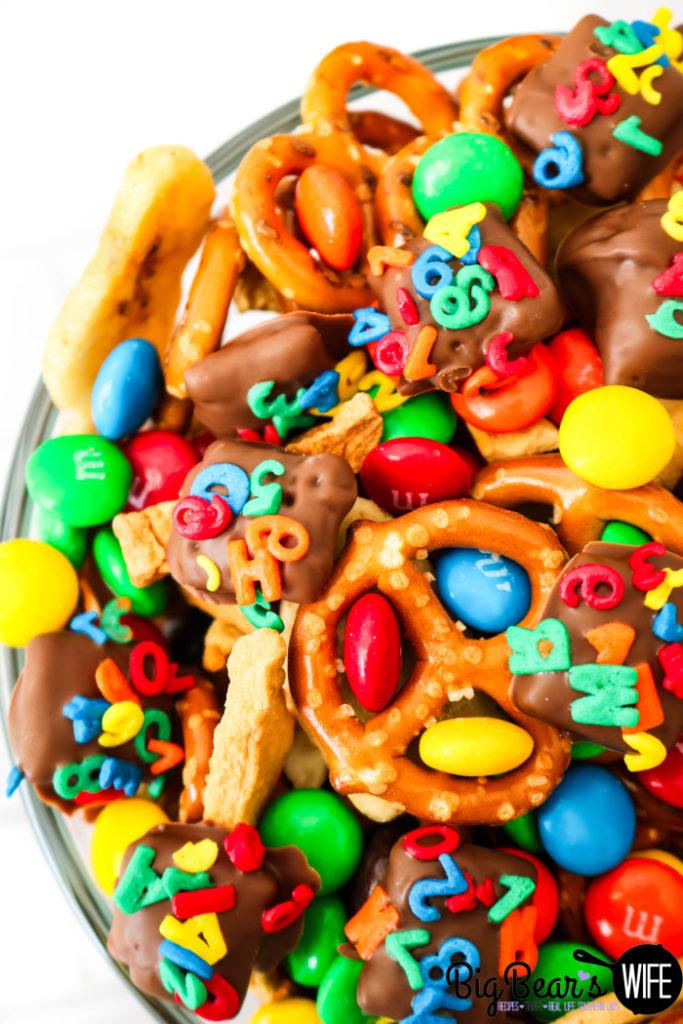 ABC 123 Snack Mix