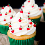 Caramel Apple Back to School Cupcakes #BacktoSchoolTreats