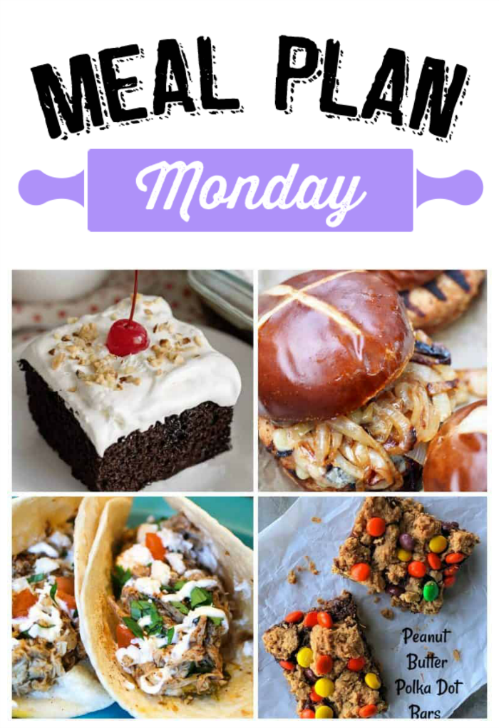 Meal Plan Monday 171