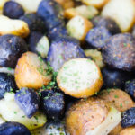 Baby Purple Potatoes and Baby Russet Roasted Potatoes