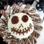 Jack Skellington Dessert Cheese Ball #HalloweenTreatsWeek