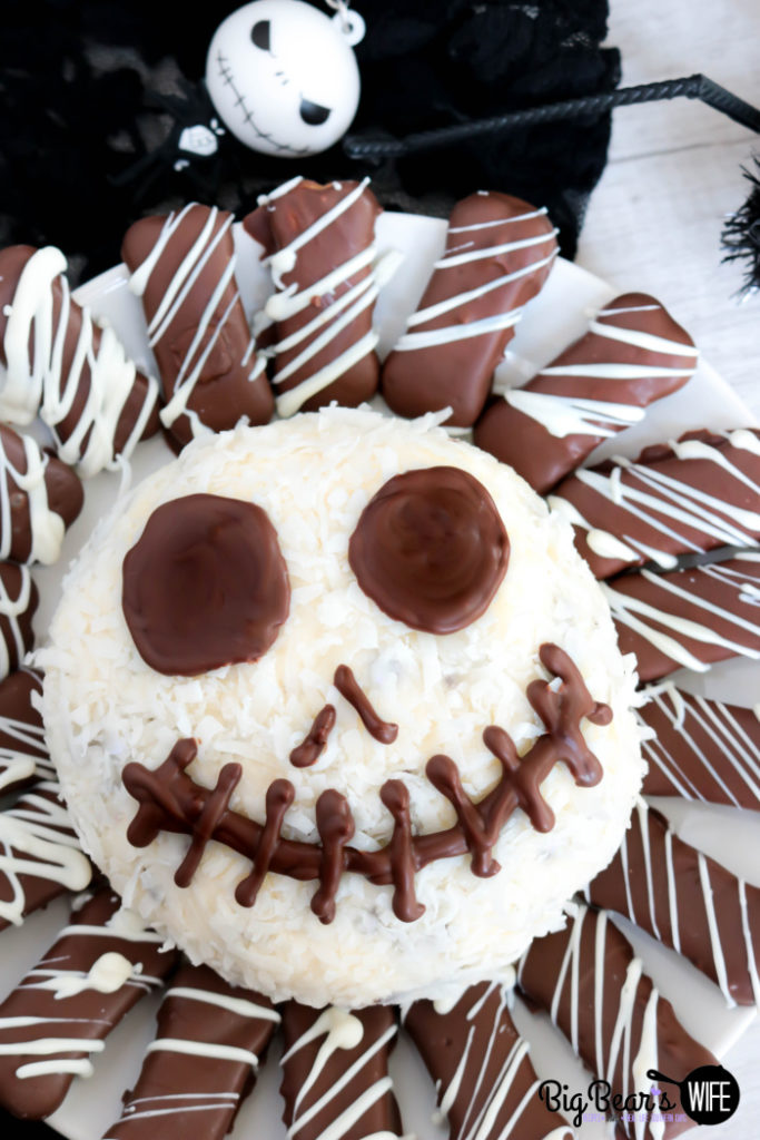 Jack Skellington Dessert Cheese Ball