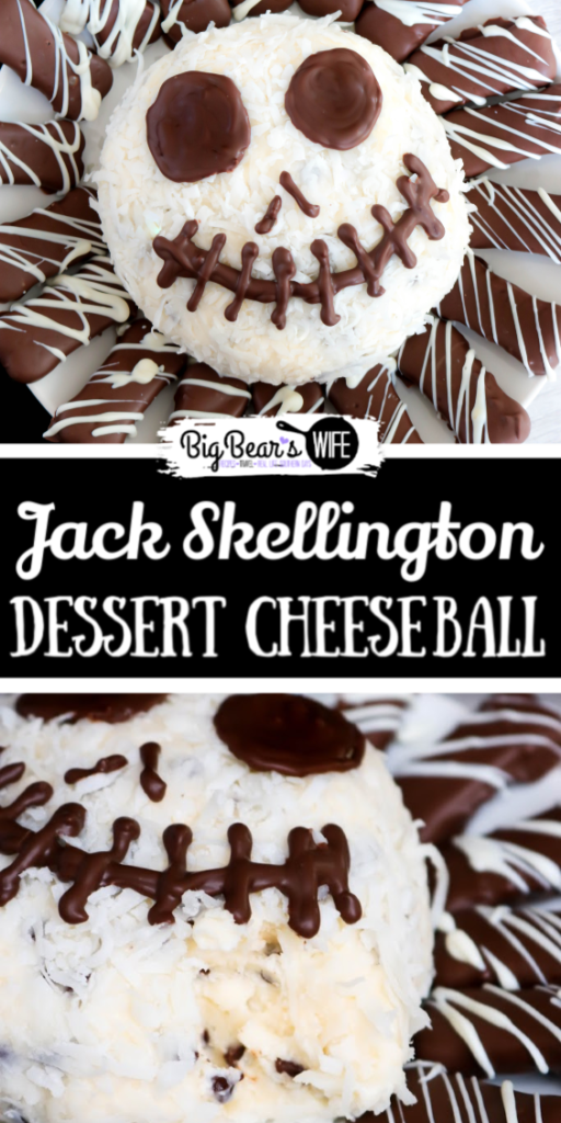 Jack Skellington Dessert Cheese Ball