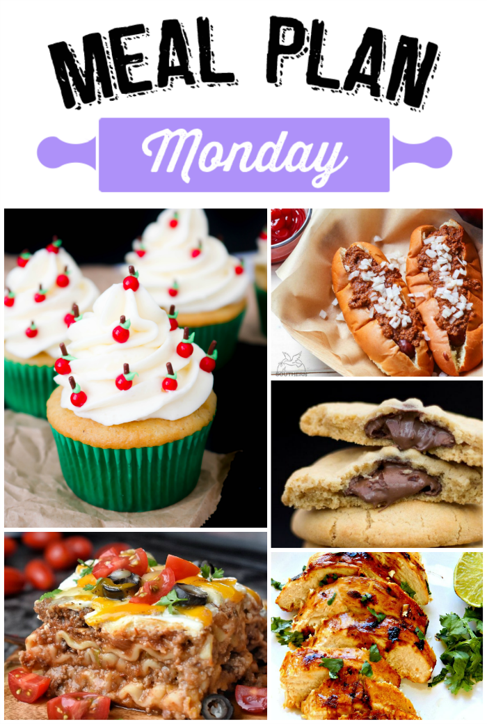 Welcome to Meal Plan Monday where we're sharing all kinds of amazing recipes with y'all this week!  via @bigbearswife